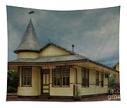 New Hope Train Station Tapestry
