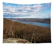 New Jersey Mountaintop View Tapestry
