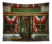 New Market General Store Tapestry