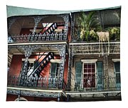 New Orleans Balconies No. 4 Tapestry