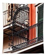 New Orleans Balcony Tapestry