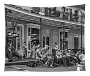 New Orleans Jazz 2 - Bw Tapestry