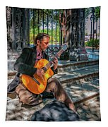 New Orleans Musician - Chris Craig Tapestry