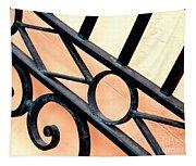 New Orleans Orange Tapestry