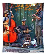 New Orleans Street Musicians Tapestry