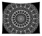 New Vision Black And White Tapestry
