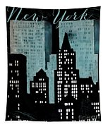 New York Art Deco Tapestry