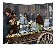 New York: Banana Cart Tapestry