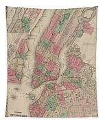 New York City, Brooklyn, Jersey City, Hoboken Tapestry