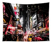 New York City Night II Tapestry