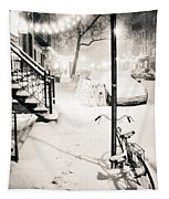 New York City - Snow Tapestry by Vivienne Gucwa