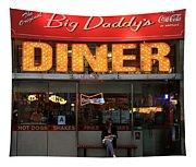 New York Diner 1 Tapestry
