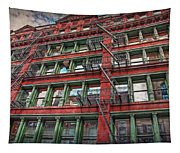 New York Fire Escapes Tapestry