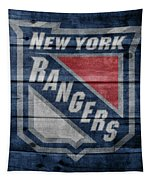 New York Rangers Barn Door Tapestry