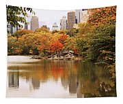 New York Reflections Tapestry