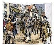 New York: Stamp Act , 1765 Tapestry