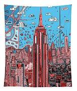 New York Urban Colors 2 Tapestry