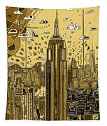 New York Urban Colors 3 Tapestry