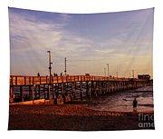 Newport Beach Glow Tapestry