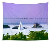 Newport Water Color Effect Tapestry