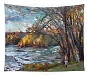 Niagara Falls Lake Tapestry