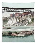 Niagara River, C1900.  Tapestry by Granger
