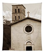 Nice Old Church For Wedding Tapestry