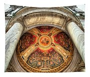 Niche Inlay 2-our Lady Of Victory Basilica Tapestry