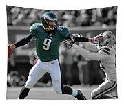 Nick Foles Eagles Super Bowl 2 Tapestry