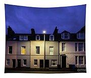 Night Darkens The Street Tapestry