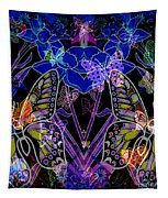 Night Garden Tapestry