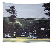 Night Landscape From Documentary Still Tapestry