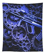 Night Watch Gears Tapestry