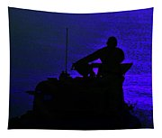 Night Watch Over The Pacific Tapestry
