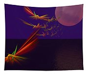 Night Wings Tapestry