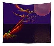 Night Wings Tapestry