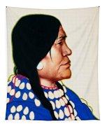 Night Woman, A Blackfeet Of Montana Tapestry