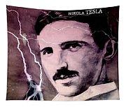 Nikola Tesla - Quote Tapestry