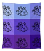 Nine Shades Of Blueberries Tapestry