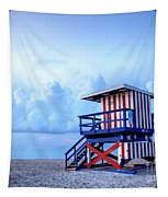 No Lifeguard On Duty Tapestry by Martin Williams