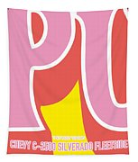No013 My Kill Bill Minimal Movie Car Poster Tapestry