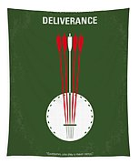 No020 My Deliverance Minimal Movie Poster Tapestry