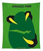 No047 My Jurassic Park Minimal Movie Poster Tapestry