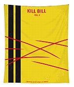 No049 My Kill Bill-part2 Minimal Movie Poster Tapestry