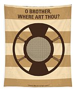 No055 My O Brother Where Art Thou Minimal Movie Poster Tapestry