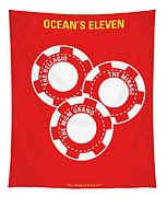 No056 My Oceans 11 Minimal Movie Poster Tapestry