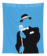 No059 My Sinatra Minimal Music Poster Tapestry