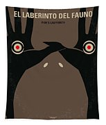No061 My Pans Labyrinth Minimal Movie Poster Tapestry