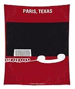 No062 My Paris Texas Minimal Movie Poster Tapestry