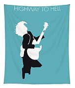 No065 My Acdc Minimal Music Poster Tapestry